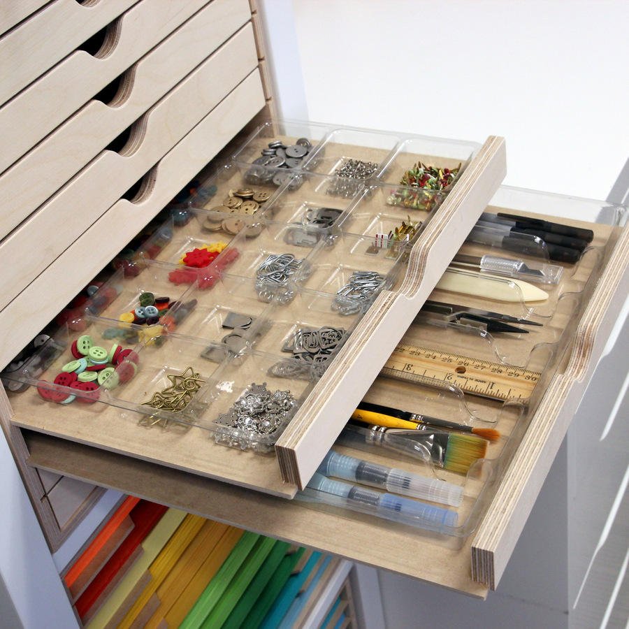 Drawer Cabinet Stamp N Storage