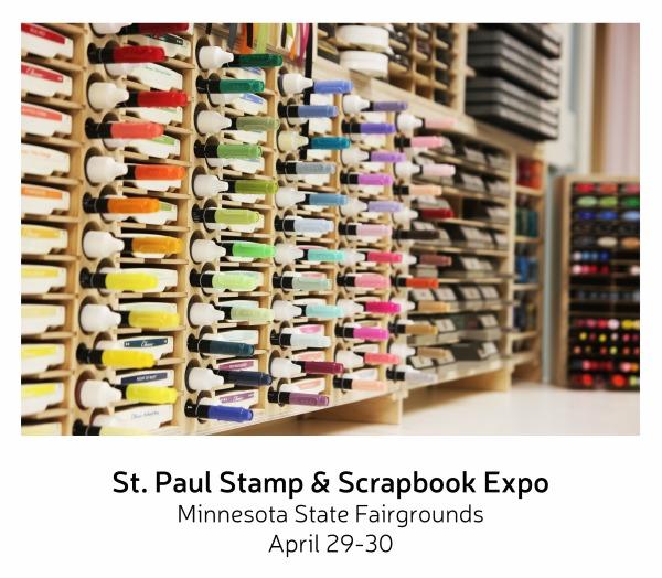 Visit Us At The Mn Stamp Scrapbook Expo Stamp N Storage
